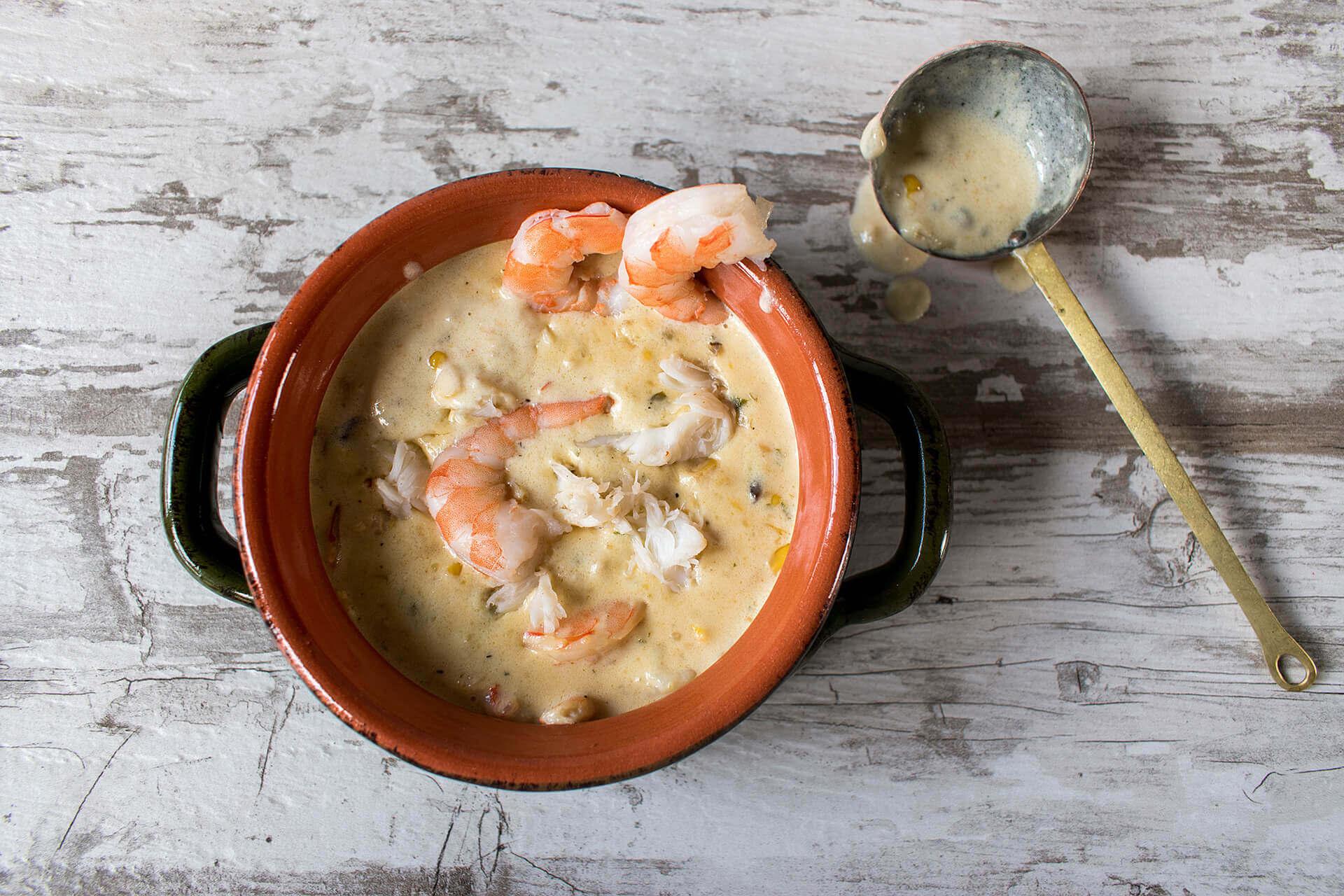 Suppe-Schrimps-Schuessel-Feinkost-Langbein